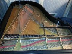 Baldwin L Grand restoration plate Beavers Piano Restoration full